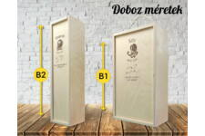 Kos csillagjegyes bortartó doboz variációk