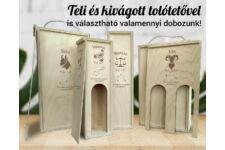 Nyilas csillagjegyes bortartó doboz típusok