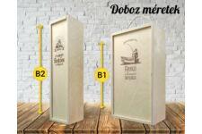 Varrónő bortartó doboz variációk