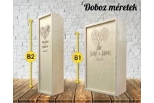 Romantikus 11 bortartó doboz variációk