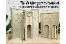 Romantikus 1 bortartó doboz típusok