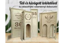 Születésnap 11 bortartó doboz típusok