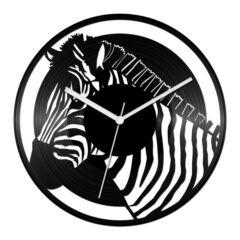 Zebrás bakelit óra