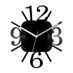 Szögletes számos bakelit óra