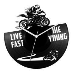 Sportmotor - sebesség bakelit óra
