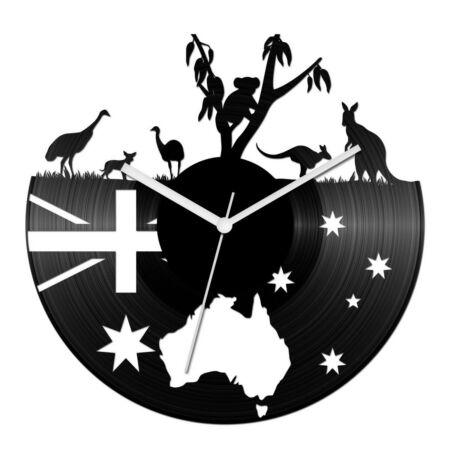 Ausztrália bakelit óra