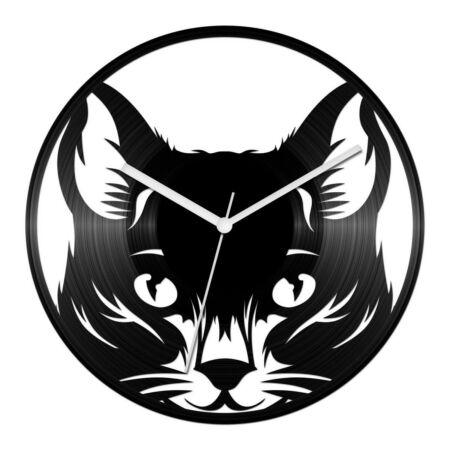 Macska bakelit óra