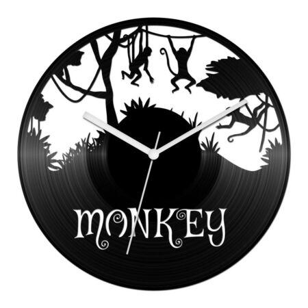 Majmok a dzsungelban bakelit óra