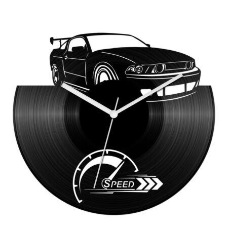 Sportautó - speed bakelit óra