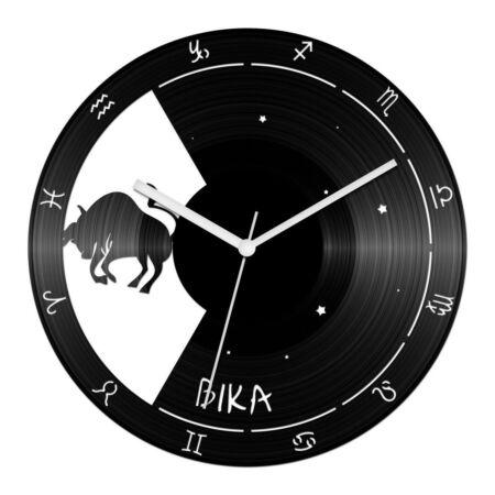 Bika csillagjegyes bakelit óra