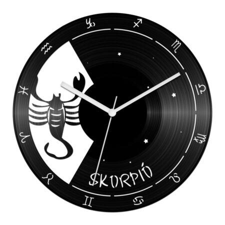 Skorpió csillagjegyes bakelit óra
