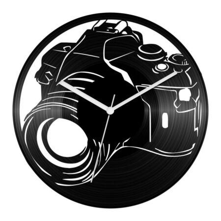 Fényképezőgép bakelit óra