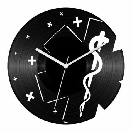 Egészségügy bakelit óra