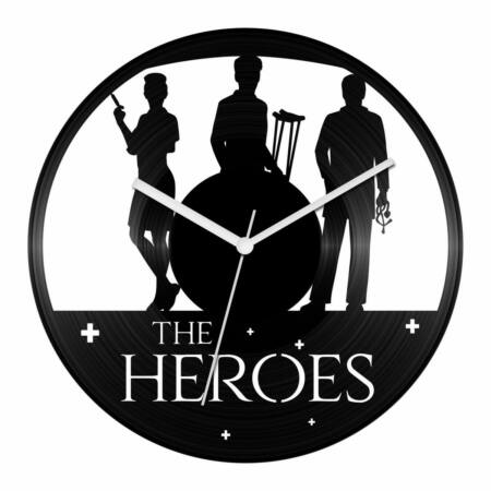 Kórházi hősök bakelit óra