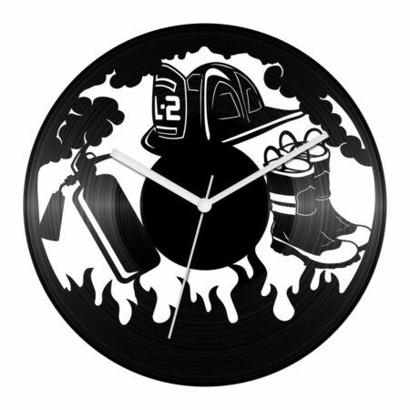 Munka- és tűzvédelem bakelit óra