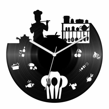 Szakács bakelit óra