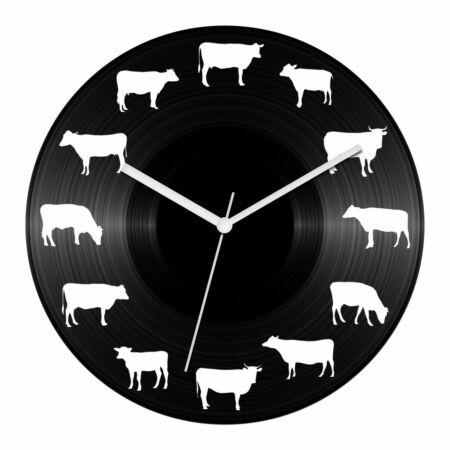 Tehenészet bakelit óra