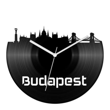 Budapesti panoráma bakelit óra