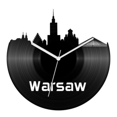 Varsó bakelit óra