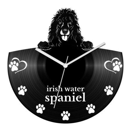 Ír vízispániel bakelit óra