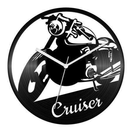 Cruiser motor bakelit óra