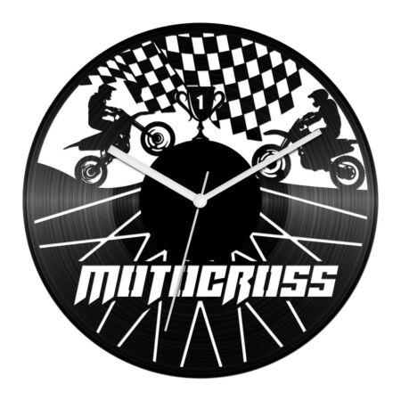 Motocross - Győztesek bakelit óra