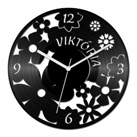 Női neves bakelit óra számokkal