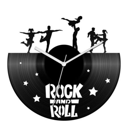 Akrobatikus rock and roll bakelit óra