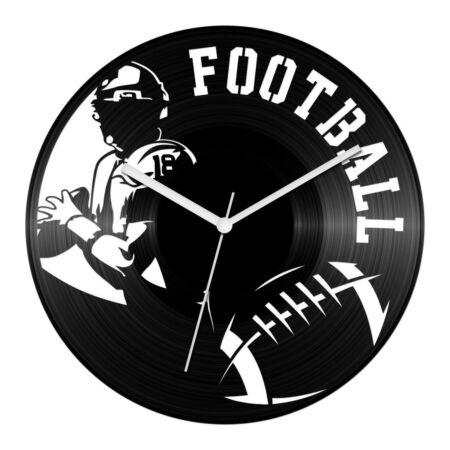 Amerikai foci bakelit óra