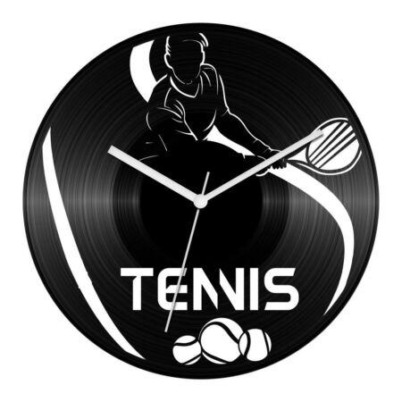 Férfi teniszező bakelit óra
