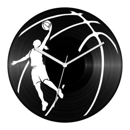 Kosárlabda - női játékos bakelit óra