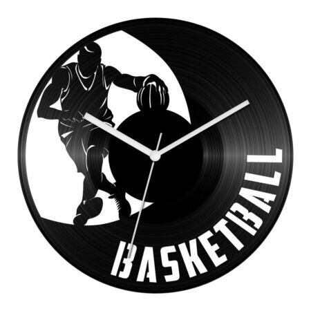 Kosárlabdázó bakelit óra