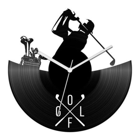 Golfjátékos bakelit óra