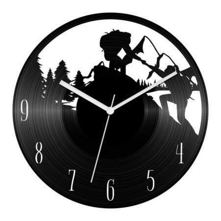 Túrázók bakelit óra