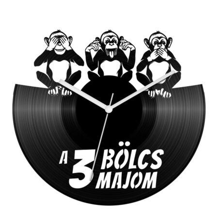 A 3 bölcs majom bakelit óra