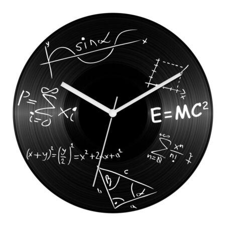 Matek tanár bakelit óra