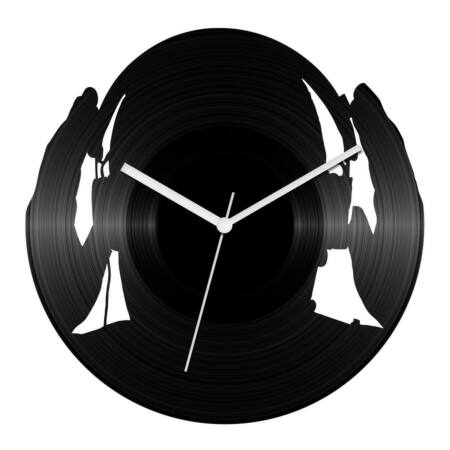DJ füles bakelit óra