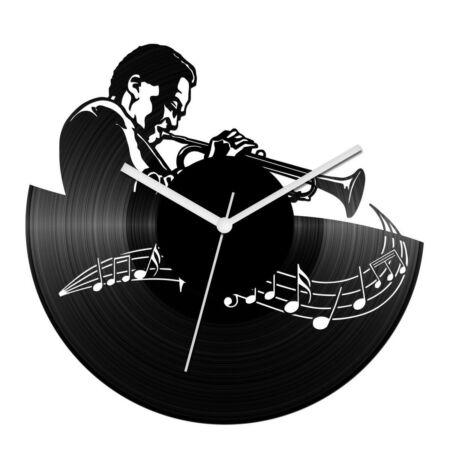 A trombita hangja bakelit óra