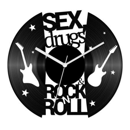 Sex, drugs and rock 'n' roll bakelit óra