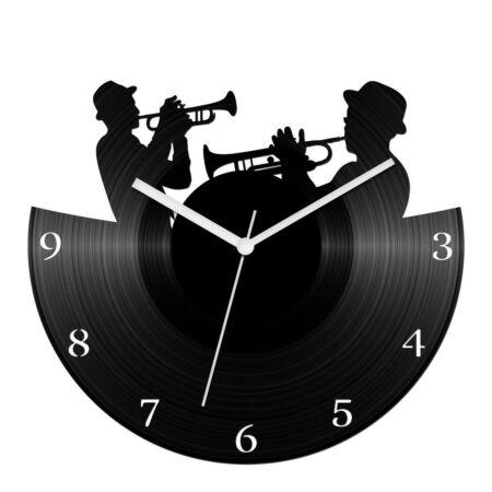 Trombitások bakelit óra