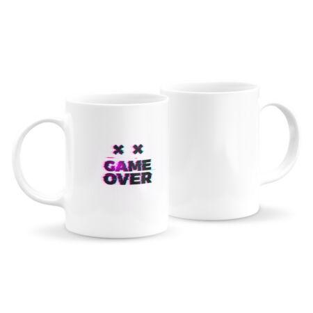 Game over feliratos bögre 1