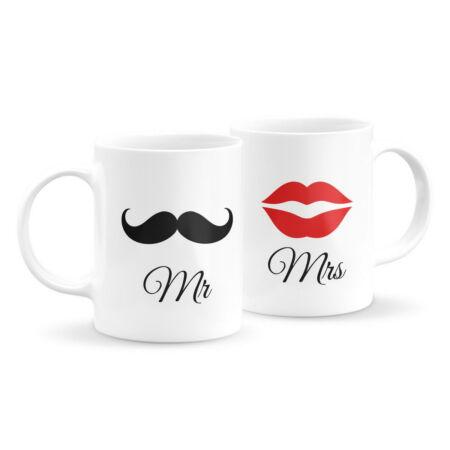 Mr és Mrs páros bögre
