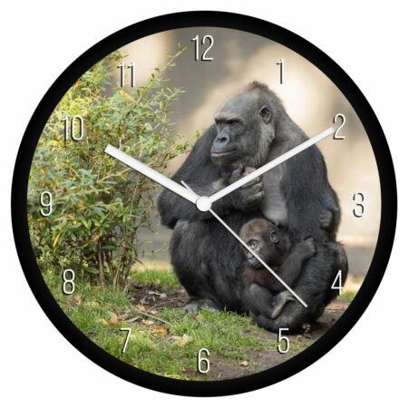 Gorillák falióra