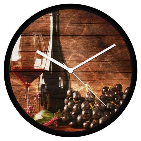 Vörös boros falióra