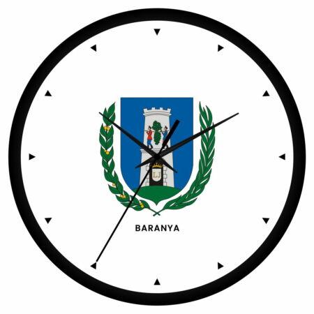 Baranya megye címeres falióra