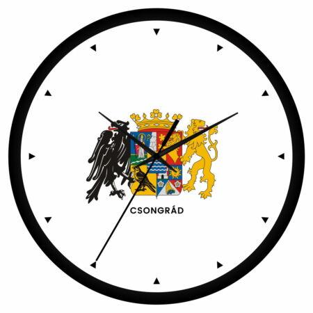 Csongrád megye címeres falióra