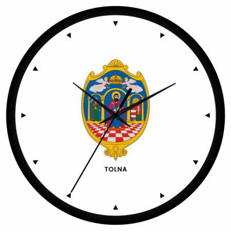 Tolna megye címeres falióra