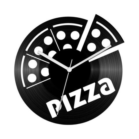 Pizzás bakelit óra