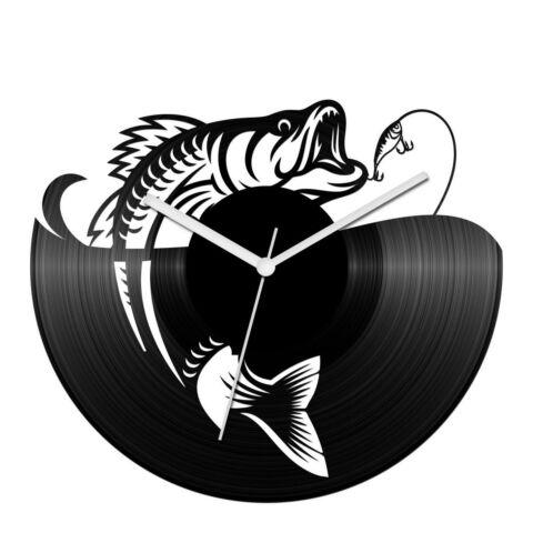Horgász préda bakelit óra