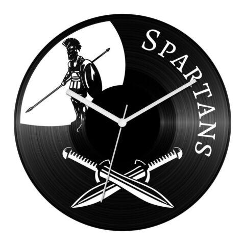 Spártai harcos bakelit óra